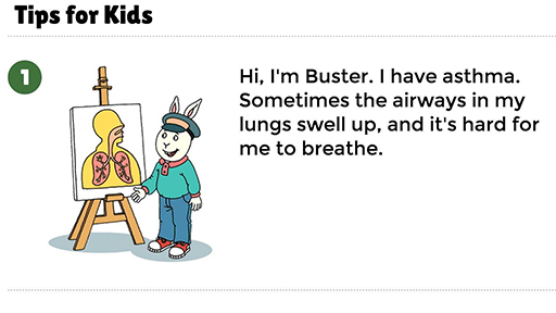 Asthma Tips for Kids