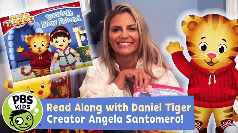 Read-Along with Daniel Tiger Creator Angela Santomero: Daniel's New Friend!