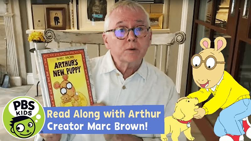 Read-Along with Arthur Creator Marc Brown: Arthur's New Puppy!