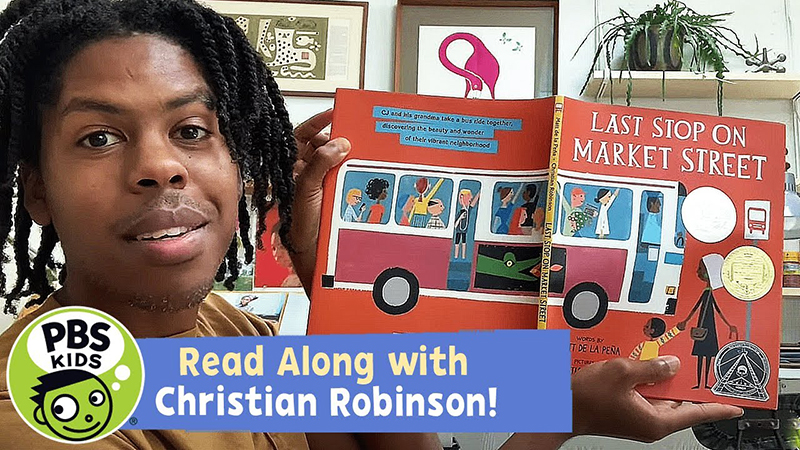 Read-Along with Christian Robinson: Last Stop on Market Street