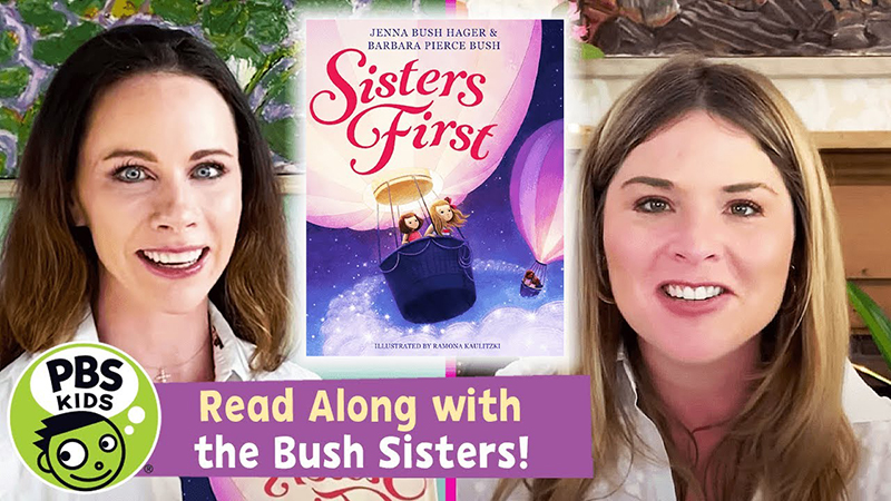 Read-Along with the Bush Sisters: Sisters First
