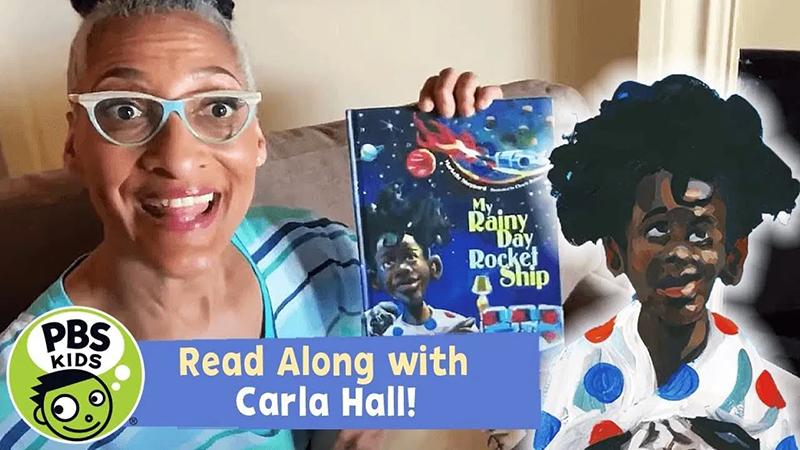 Read-Along with Carla Hall: My Rainy Day Rocket Ship