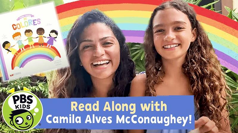 Read-Along with Camila Alves McConaughey: Cantando (Singing) De Colores