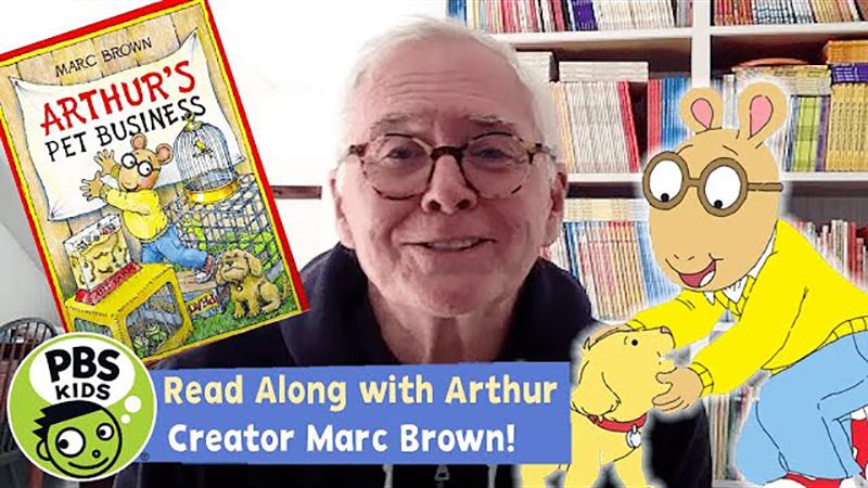 Read-Along with Arthur Creator Marc Brown: Arthur's Pet Business