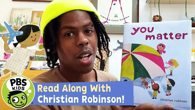 Read-Along with Christian Robinson: You Matter