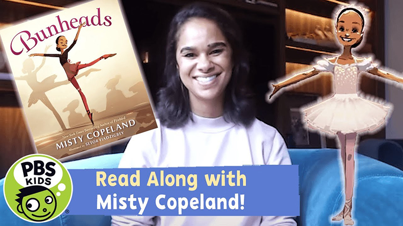 Read-Along with Misty Copeland: Bunheads