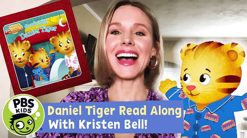 Read-Along with Kristen Bell: Goodnight, Daniel Tiger