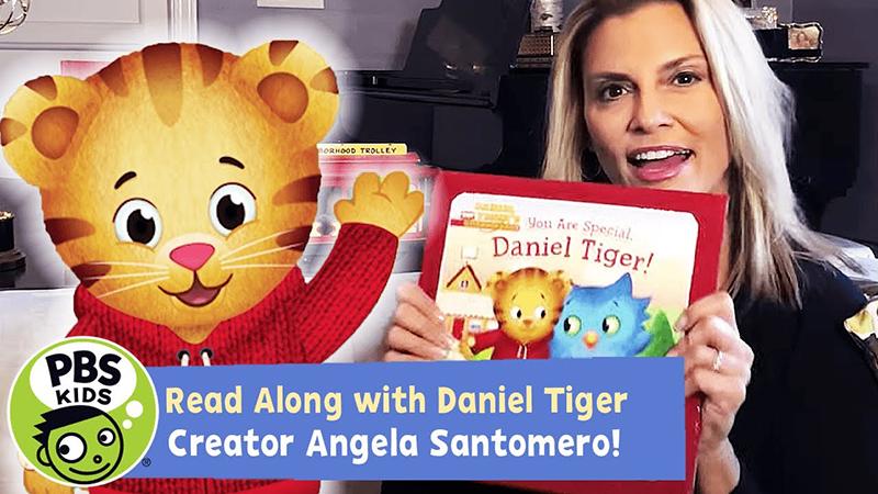 Read-Along with Daniel Tiger Creator Angela Santomero: You Are Special, Daniel Tiger!