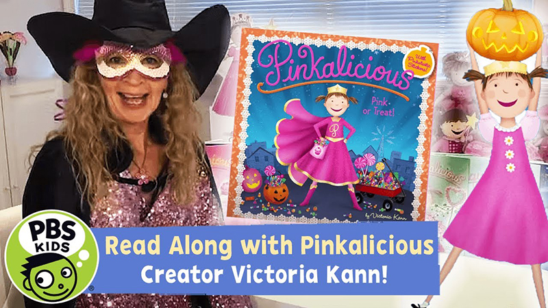 Read-Along with Pinkalicious Creator Victoria Kann: Pink or Treat