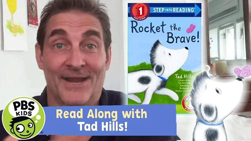 Read-Along with Tad Hills: Rocket the Brave!