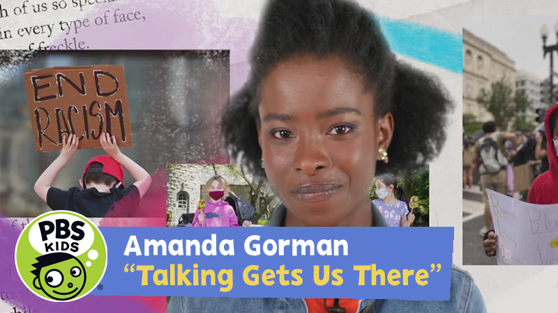 Read-Along with Amanda Gorman: Talking Gets Us There