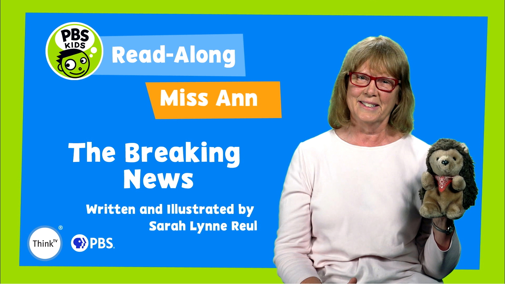 Read-Along with Miss Ann: The Breaking News