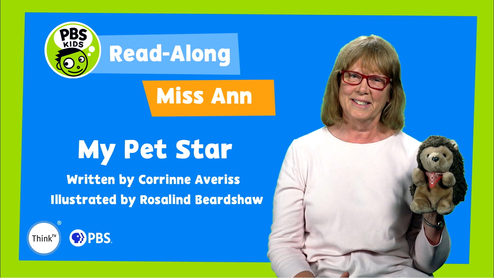 Read-Along with Miss Ann: My Pet Star