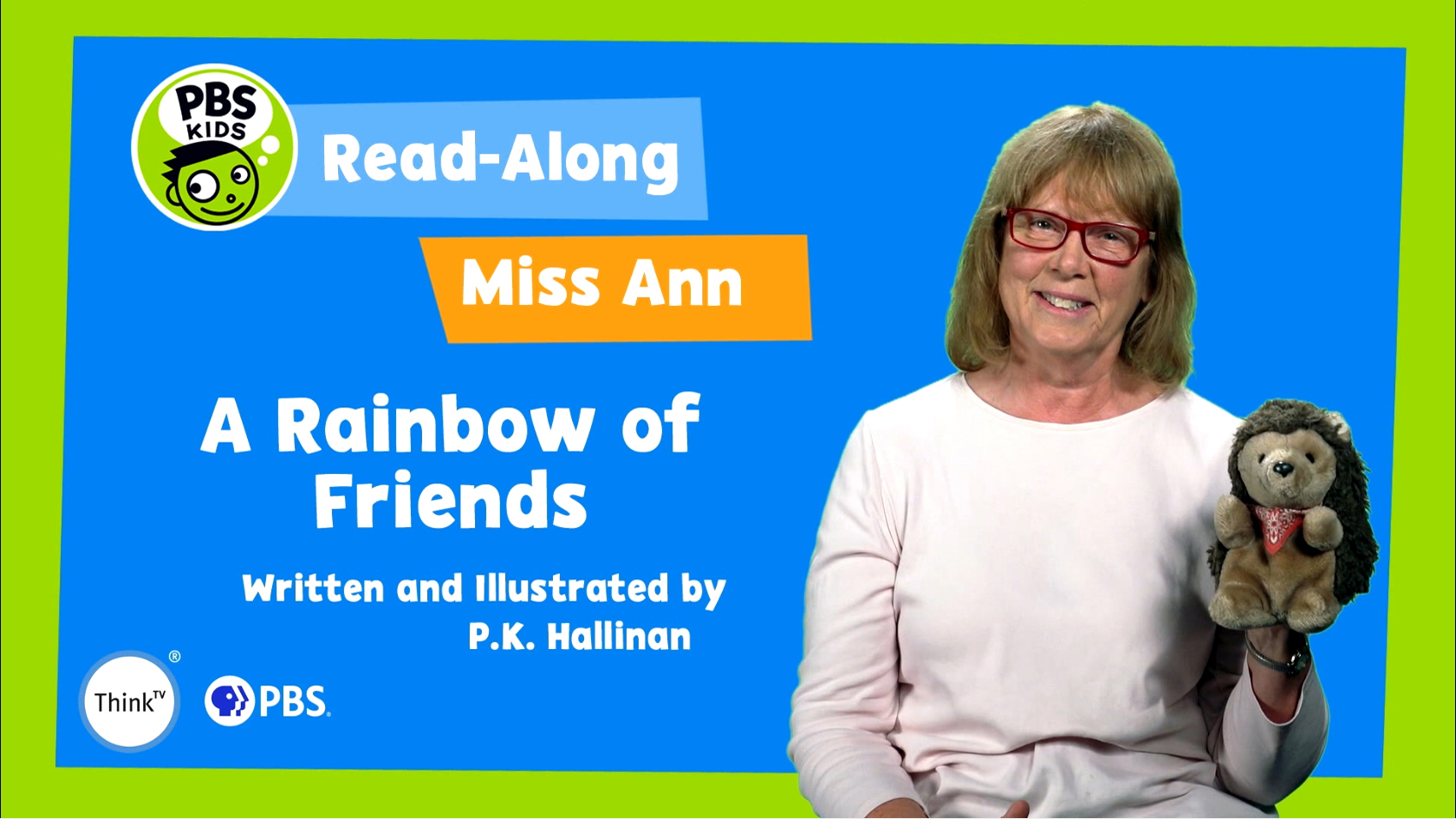Read-Along with Miss Ann: A Rainbow of Friends