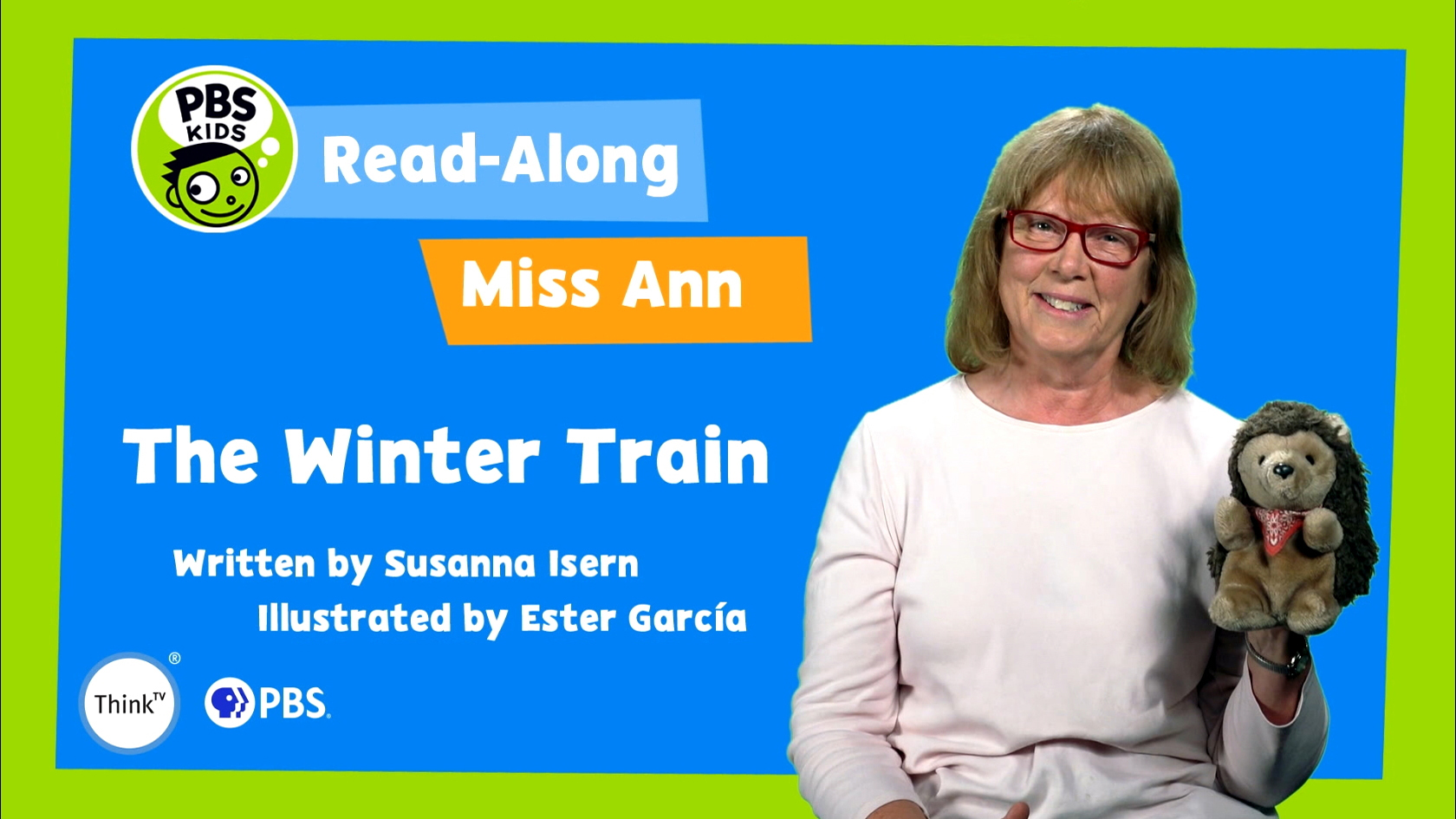Read-Along with Miss Ann: The Winter Train