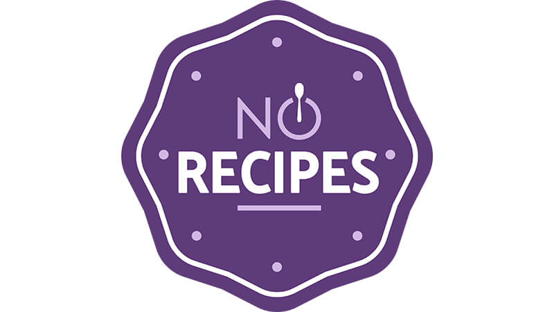 No Recipes