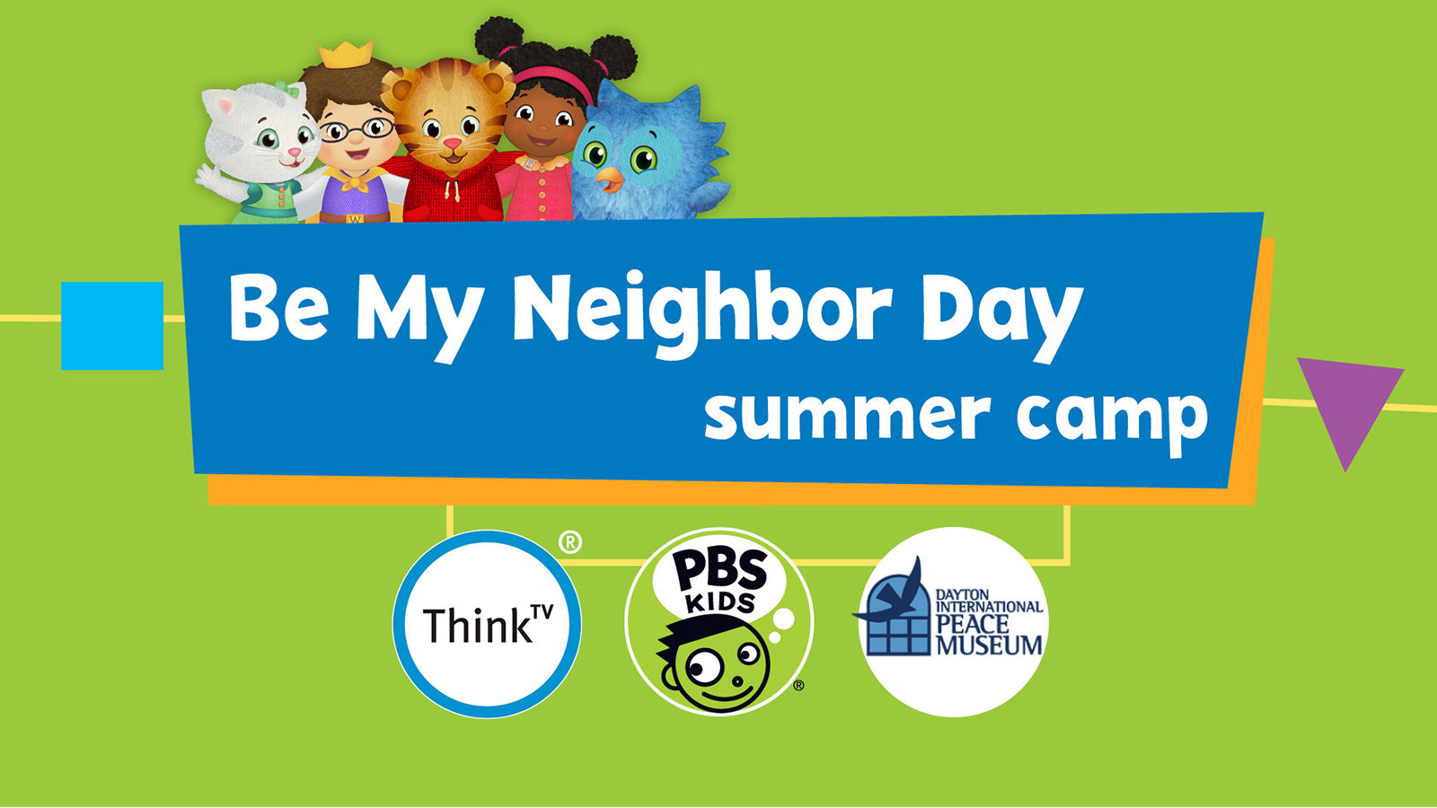 Be My Neighbor Day Camp
