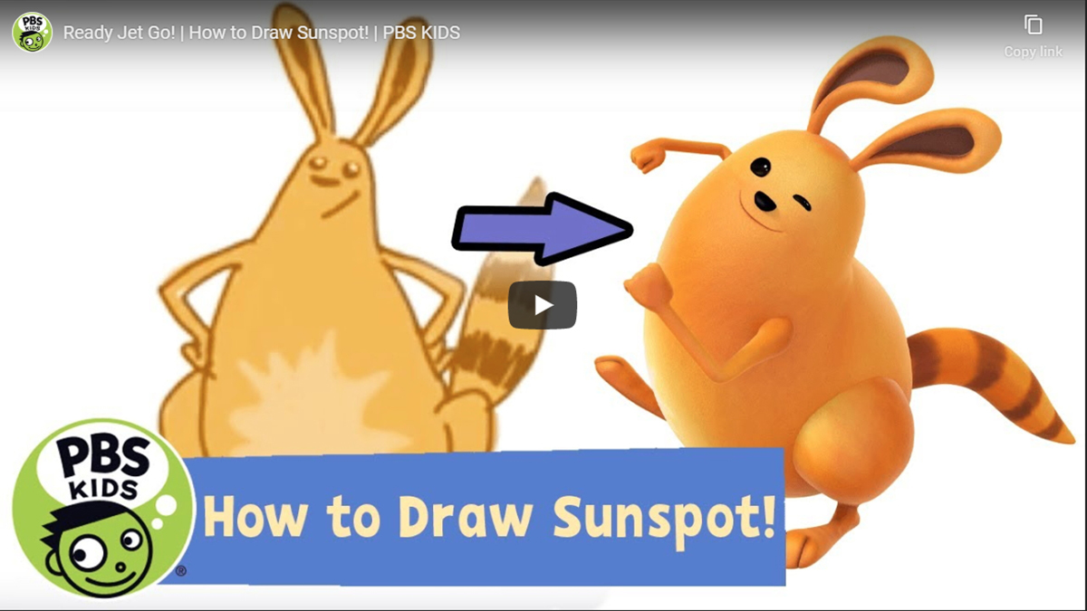 How to Draw Your Favorite PBS Kids Characters