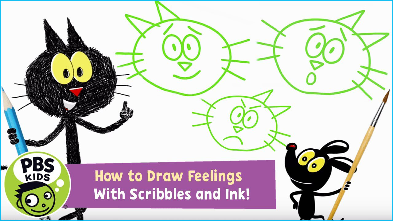 Scribbles and Ink Drawing Game