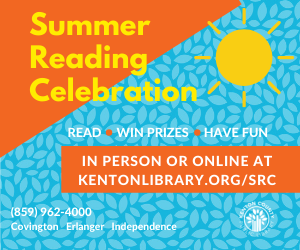 Summer Reading Celebration: Read, Win Prizes, Have Fun! - In person or online at kentonlibrary.org/SRC
