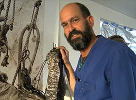 Nevada sculptor Steve Liguori