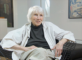 96-year-old collage artist Eunice Parsons