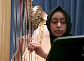 Cass Tech's Harp and Vocal Program in Detroit