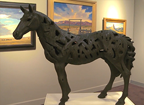 Contemporary artist Quang Ho and his exhibition at the Coors Western Art Exhibit and Sale