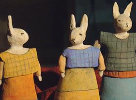Ceramic artist Sara Swink