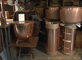 The copper kettle factory D. Picking Company