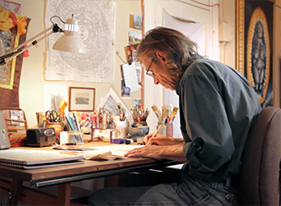 Artist and Assistant Professor of Fine Arts at Bluffton University Phil Sugden