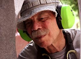 Cleveland woodworker Jon Hill